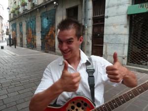 5 Tournage ce soir on sait qu'on s'aime Antoine le guitariste (5)